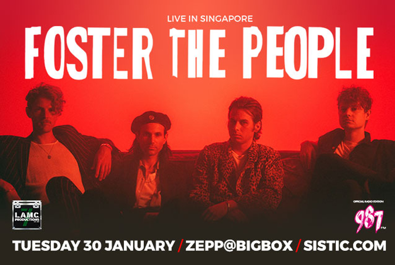 30 Jan 2018, Foster the People