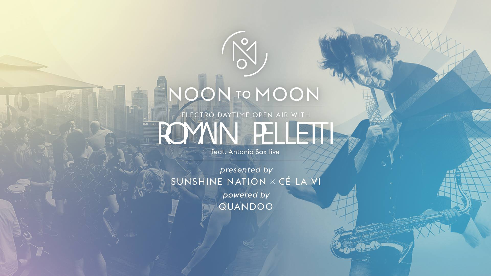 Noon to Moon, presented by Sunshine Nation, 3 Dec 2016