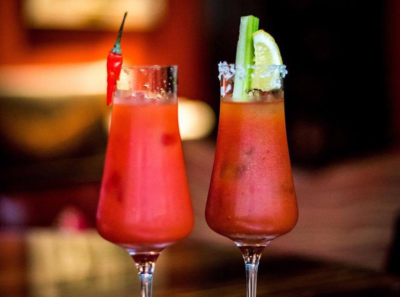 Singapore's Top 5 Bloody Mary's