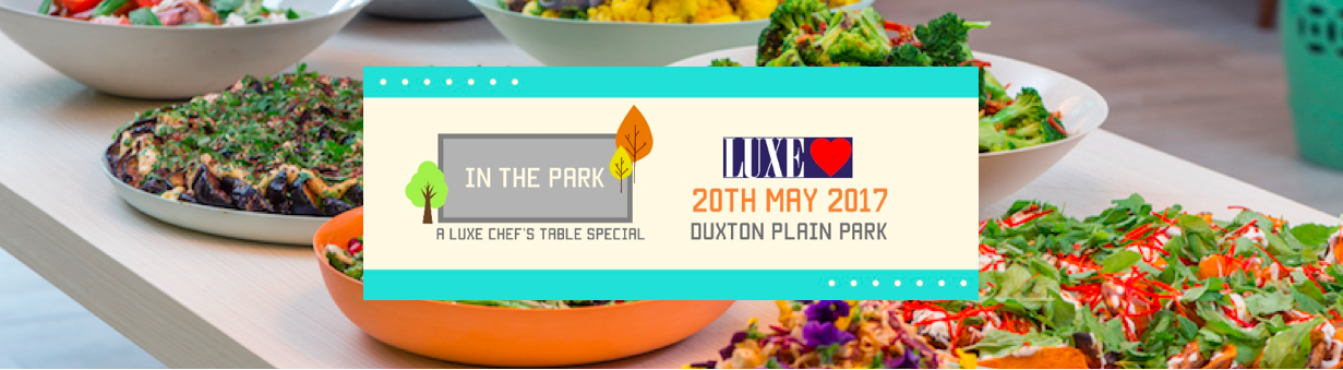 Dine Under the Stars at Luxe, 20 May 2017