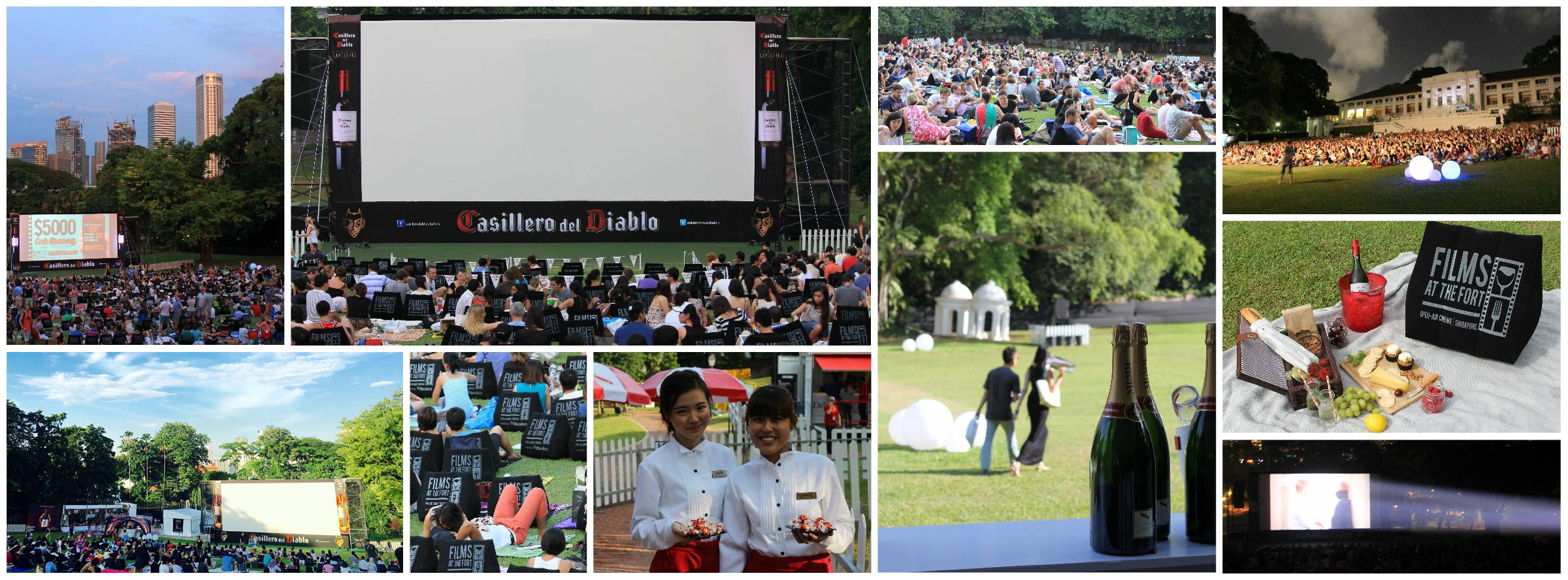 Films at the Fort, 3 Aug - 20 Aug