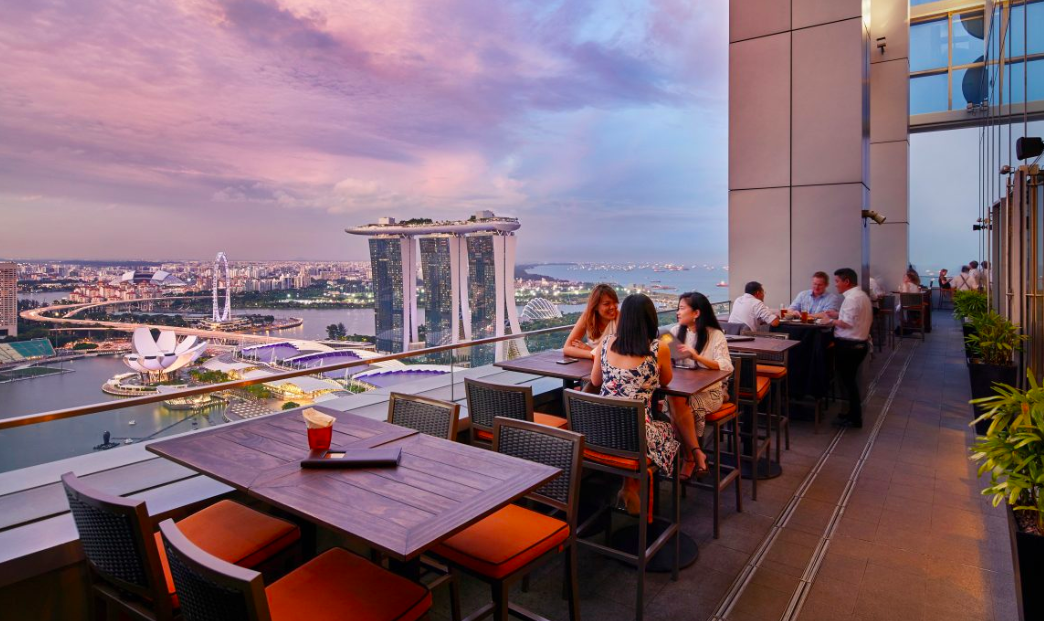 Sky-high sips at Singapore's best rooftop bars