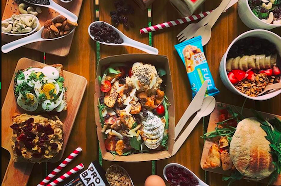 17 Great Places to Eat Healthy in the CBD