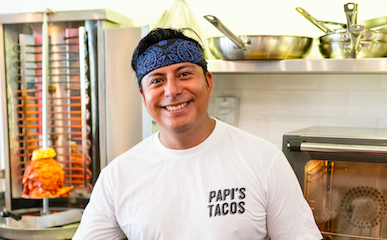 Urban Insider: We spoke with Mauricio Espinoza, Executive Chef & Partner of Papi's Tacos