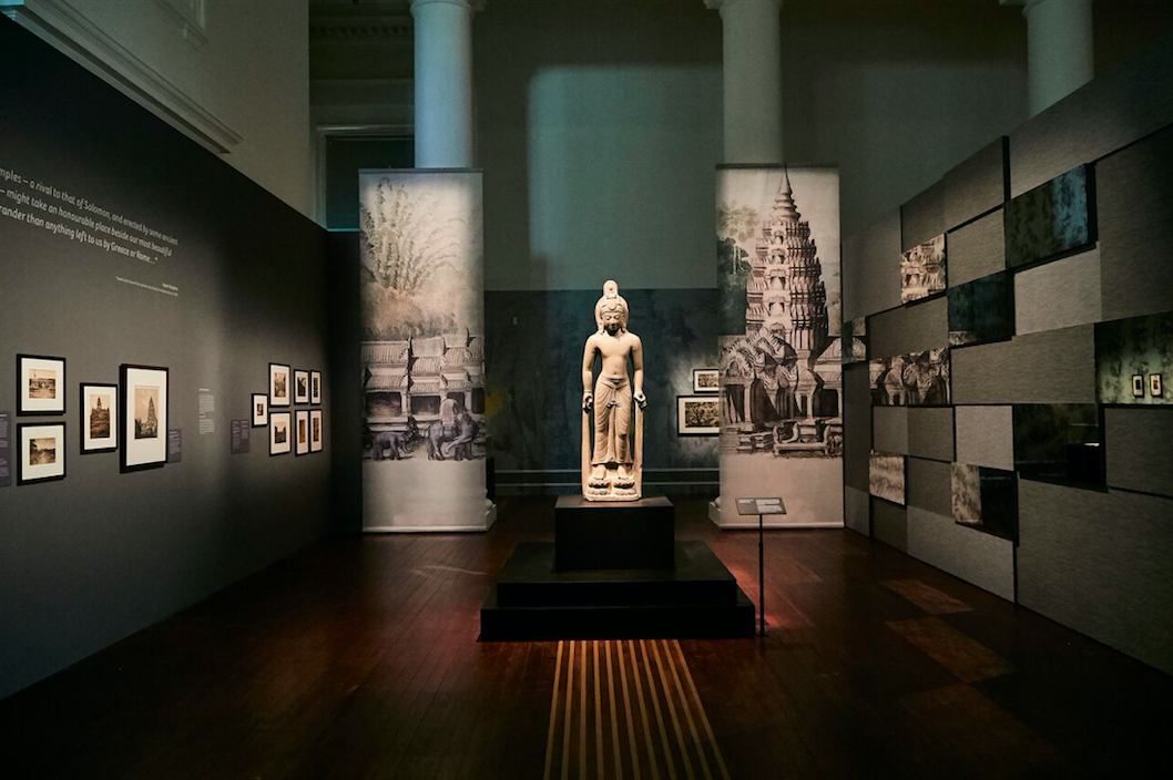 8 April - 22 July, Get your culture fix here: Angkor: Exploring Cambodia's Sacred City. Masterpieces of the Musee national des arts asiatiques-Guimet