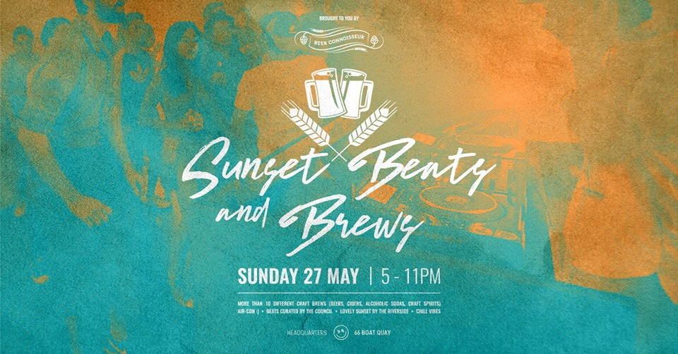27 May, Sunset Beats & Brews