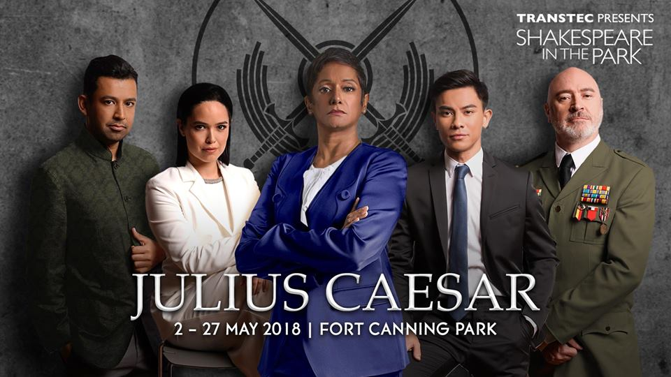2 - 27 May, Shakespeare in the Park: Julius Caeser