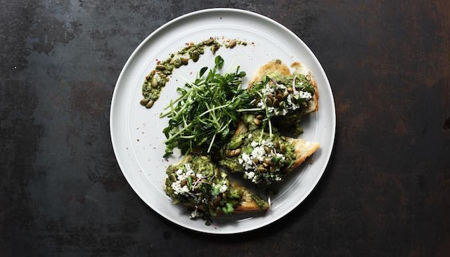 Forty Hands Avocado toast