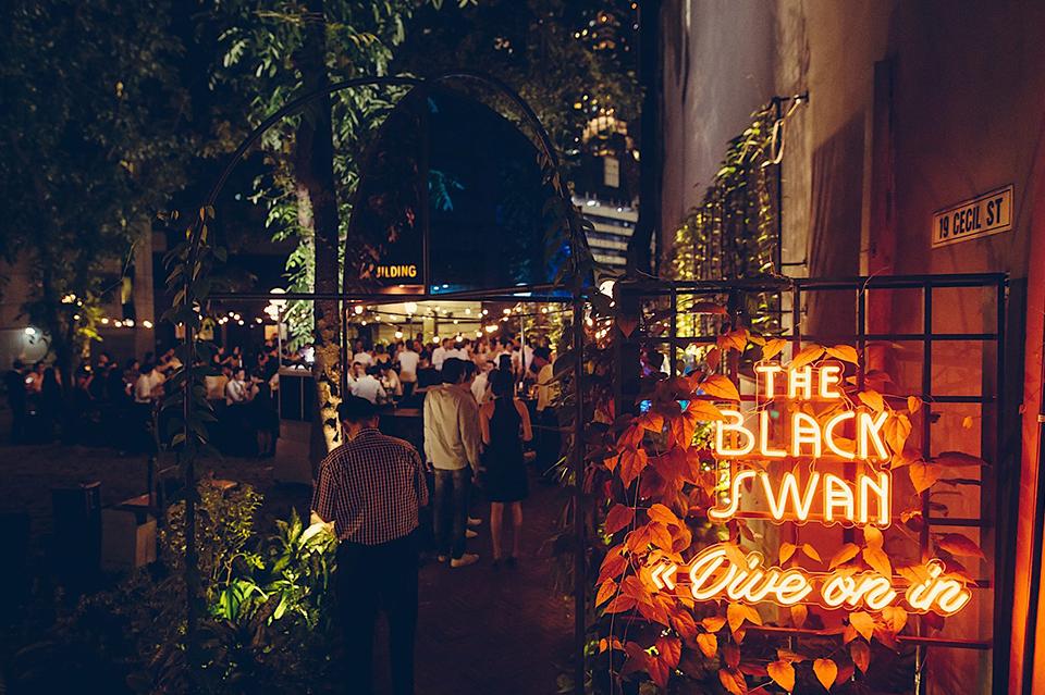 Night life in Singapore