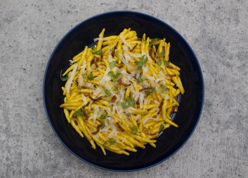 Pasta atAmo Restaurant Singapore