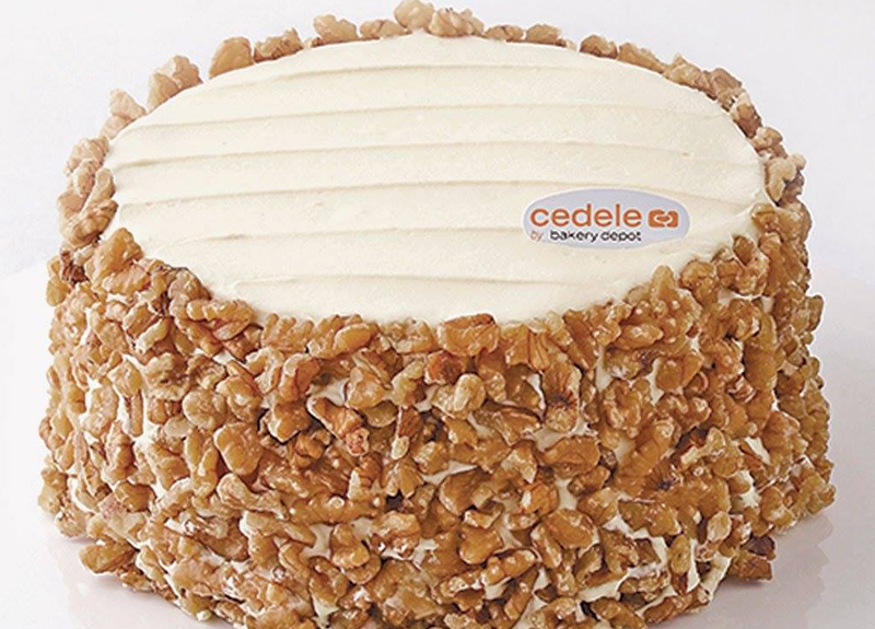 Carrot Cake at Cedele Singapore