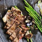 Wagyu A4 Striploin Steak at Rizu