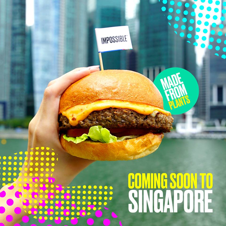 Impossible Foods at Lau Pa Sat