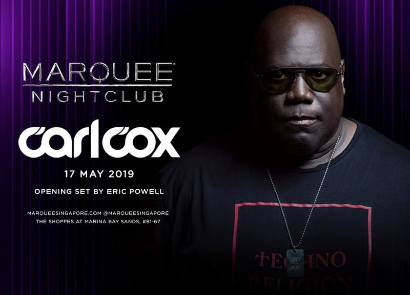 Carl Cox at Marquee