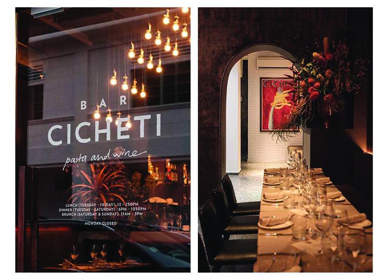 Bar Cicheti Natural Wine in Singapore