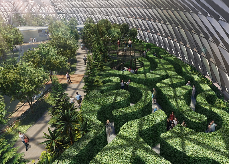 Top Place to Visit in Singapore Jewel Changi Airport