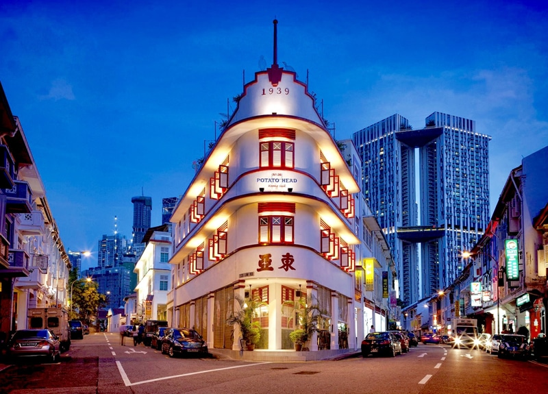 Place to See in Singapore Keong Saik Road