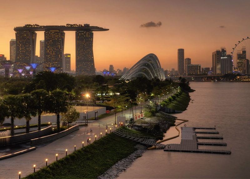 Best Place to See in Singapore Marina Barrage