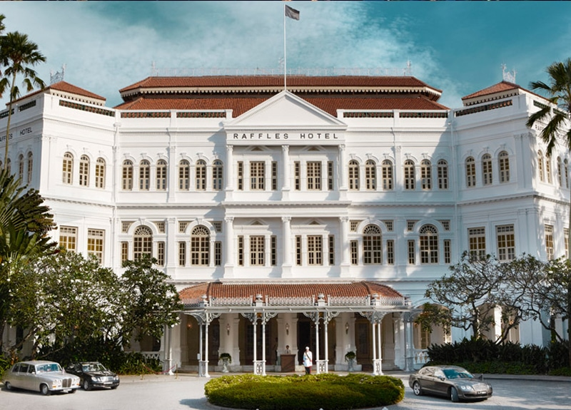 Place to Visit in Singapore Raffles Hotel